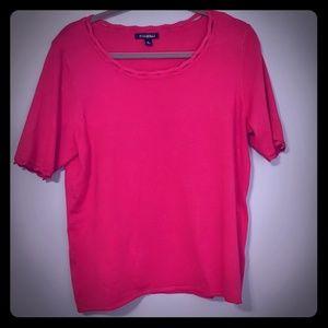 Pink shirt XL plus size (16)